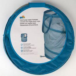 20 Units of Hamper Large Mesh Blue Pop Open - Laundry Baskets & Hampers