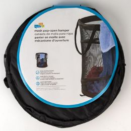 20 Units of Hamper Medium Mesh Black Pop Open - Laundry Baskets & Hampers