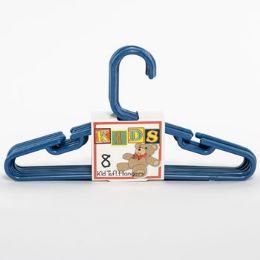 16 Units of Hangers Tubular Dark Blue Kids - Hangers