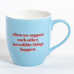 24 Units of Mug New Bone China Boxed Incredible Things Happen - Coffee Mugs
