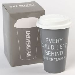 24 Units of Mug Thermal Porcelain Every Child Left Behind Boxed - Coffee Mugs