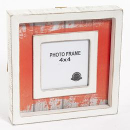 24 Units of Photo Frame Shadow Box Orange - Picture Frames