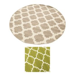 2 Units of Rug Accent 8 Foot Round Classic Random Colors - Home Decor