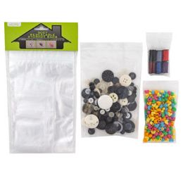 72 Units of Storage Bags Resealable - Arts & Crafts