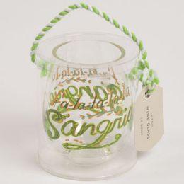 12 Units of Wine Stemless Acrylic Fa La La La La Sangria - Home Accessories