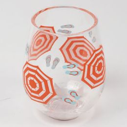 12 Units of Wine Stemless Acrylic Umbrella - Home Accessories