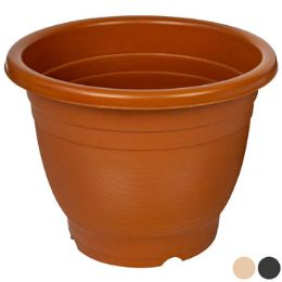 50 Units of Planter Round Terra Cotta Beige And Grey - Garden Planters and Pots
