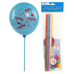 36 Units of Balloon Sticks With Cups - Balloons & Balloon Holder
