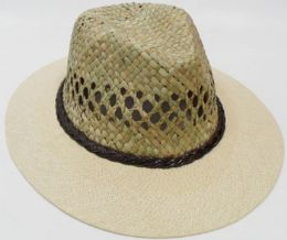 72 Units of Unisex Straw Top Sun Hat - Sun Hats