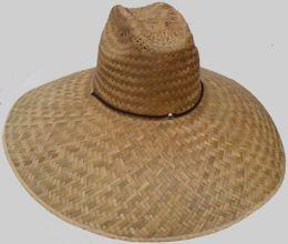 25 Units of Adults Large Rim Straw Sun - Sun Hats