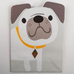 60 Units of Gift Bag Large Cub Embellished Dog - Gift Bags Everyday