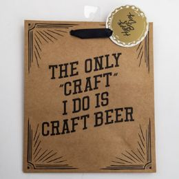 60 Units of Gift Bag Cub Embellished Happy Beerday - Gift Bags Everyday
