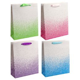 36 Units of Gift Bag Color Drip Large - Gift Bags Everyday