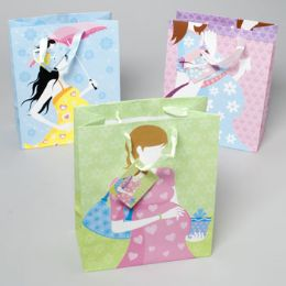 72 Units of Gift Bag Paper Baby Shower - Gift Bags Everyday