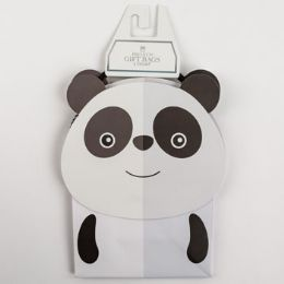60 Units of Gift Bags Petite Cub Embellished Panda - Gift Bags Everyday