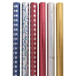 48 Units of Gift Wrap Metallic Foil - Gift Wrap