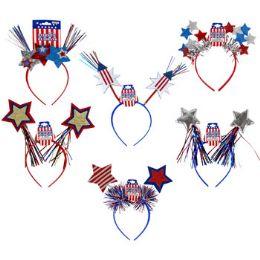 48 Units of Headband Patriotic - Seasonal Items