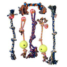 18 Units of Dog Toy Rope Chews - Pet Toys