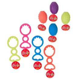 96 Units of Dog Toy Rubber - Pet Toys