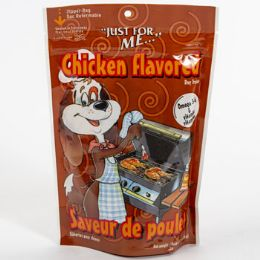 16 Units of Dog Treats Just For Me Grilled Chicken Zipper Bag - Pet Chew Sticks and Rawhide