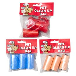 48 Units of Doggy Clean Up Bags 2 Strips - Pet Chew Sticks and Rawhide