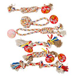 72 Units of Doy Toy Rope Chews - Pet Chew Sticks and Rawhide