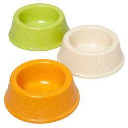 48 Units of Pet Bowl 8 Oz 4.5d X 2h 3 Colors In Pdq - Pet Supplies