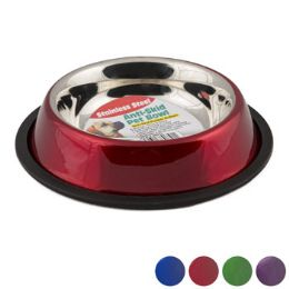 36 Units of Pet Bowl Stainless Steel - Pet Supplies
