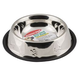 12 Units of Pet Bowl Stainless Steel - Pet Supplies