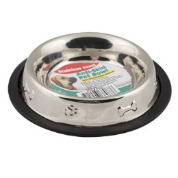 48 Units of Pet Bowl Stainless Steel - Pet Supplies