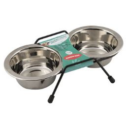 24 Units of Pet Bowl Stainless Steel - Pet Supplies