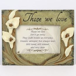 12 Units of Photo Frame Those We Love Resin - Picture Frames