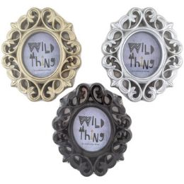 36 Units of Photo Frame Oval Scroll - Picture Frames