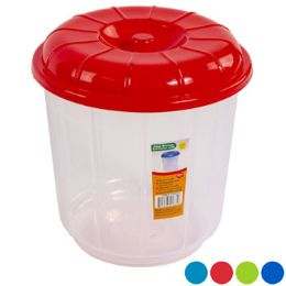 48 Units of Bucket With Lid Clear Bottom - Buckets & Basins