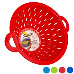 48 Units of Colander With 2 Handles 4 Colors - Strainers & Funnels