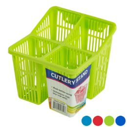 48 Units of Cutlery Drainer Caddy 4 Colors - Dish Drying Racks