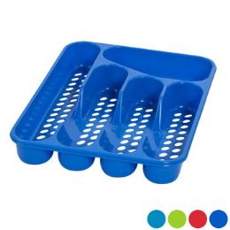 48 Units of Cutlery Tray 5 Section 4 Colors 2 Styles - Kitchen Gadgets & Tools