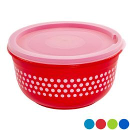 48 Units of Food Storage Cup Printed Round In Pdq Solitaires - Food Storage Containers