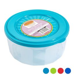 48 Units of Food Storage Container Clear Frost Bottom - Food Storage Containers