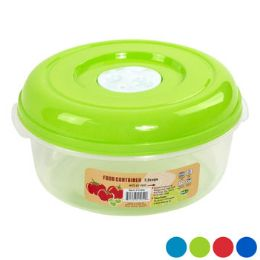 24 Units of Food Storage Container 4 Colors Vented - Food Storage Containers