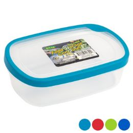 48 Units of Food Storage Container Rectangle With Rubber Edge On Lid - Food Storage Containers