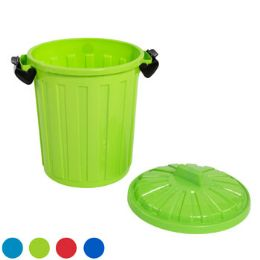 24 Units of Pail With Lid And Locks - Buckets & Basins