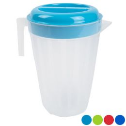 24 Units of Pitcher With Lid 4 Colors Lids With Translucent Bottom - Kitchen Gadgets & Tools