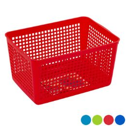 36 Units of Storage Basket Rectangle Slotted - Storage & Organization