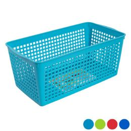 48 Units of Storage Basket Rectangle Slotted - Storage & Organization