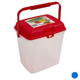 24 Units of Storage Canister With Lid And Handle - Storage & Organization