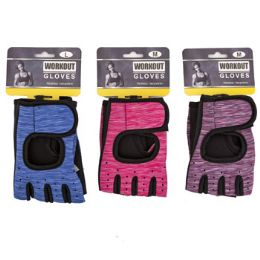 24 Units of Gloves Workout With Adjustable Wrist Wrap - Workout Gear