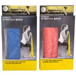 24 Units of Exercise Resistance Stretch Band Medium - Workout Gear