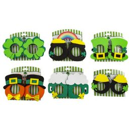 48 Units of Glasses Eva Novelty Saint Patrick - St. Patricks
