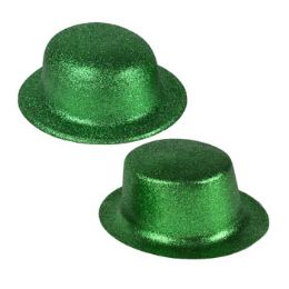 24 Units of Hat Glitter Saint Patrick - St. Patricks